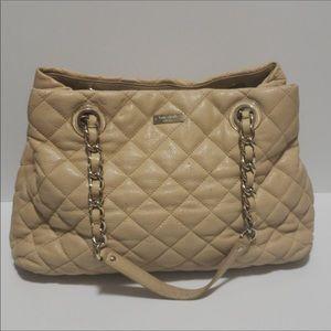 Tan leather Kate Spade shoulder bag